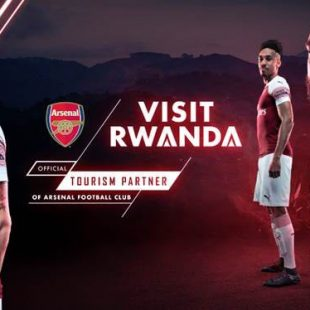 Rwanda partners with Premier League football club Arsenal