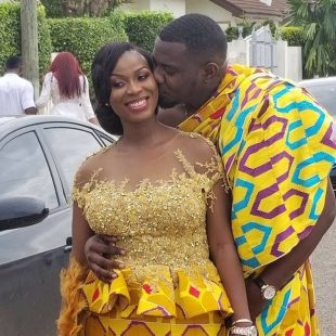 Dumelo weds Mawunya [Photos]