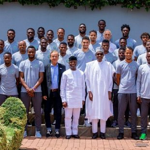 President Buhari urges Super Eagles to make Nigeria proud at World Cup