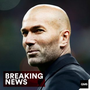 BREAKING: Zinedine Zidane steps down as Real Madrid C.F. manager.
