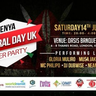 Kenya Cultural Day UK 2018 AFTER PARTY
