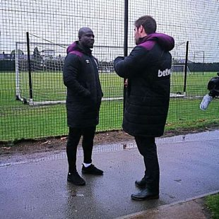 Stephen Appiah returns from West Ham visit