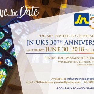 JN UK 30th Anniversary