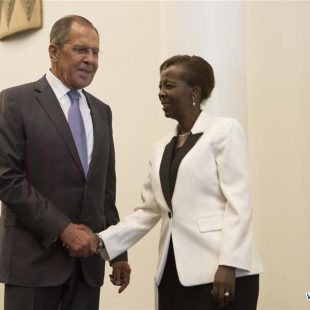 Russian foreign minister visits Rwanda to strengthen bilateral ties