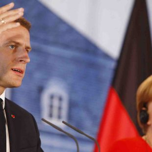 Macron, Merkel unite on eurozone reforms and migration