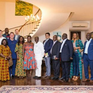 BRITISH HIGH COMMISSIONER HOSTS GUBA GHANA PRESS LAUNCH