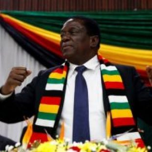 Zimbabwean presidential candidates sign peace pledge
