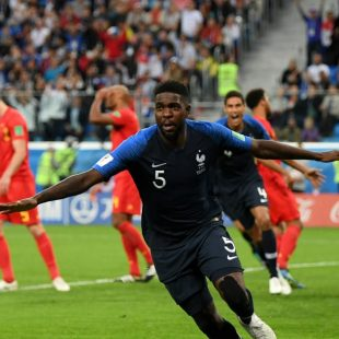 2018 World Cup: Umtiti heads France into the Final