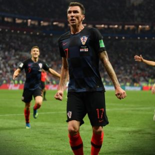World Cup 2018: Mandzukic strike sends Croatia to final