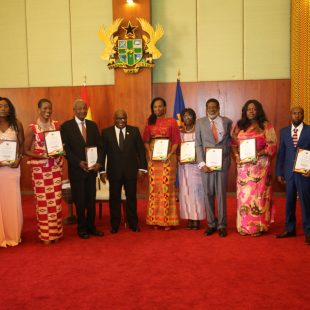 Nana Addo honours 10 pioneer Ghanaian foreign service officers