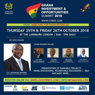 Ghana Investment & Opportunities Summit 2018