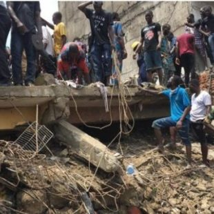 Nigeria school collapse: Pupils feared dead in Lagos